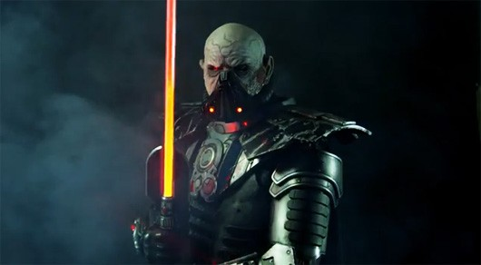 Fan brings SWTOR's Darth Malgus to life
