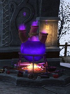 Laboratory crafting station in Darkdfall