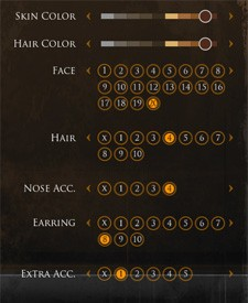 Darkfall character creation