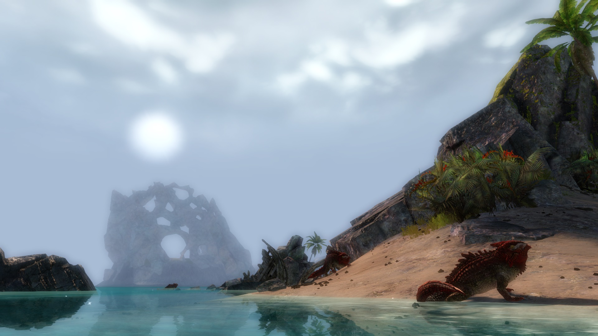 Flameseeker Chronicles Catching crabs in Guild Wars 2