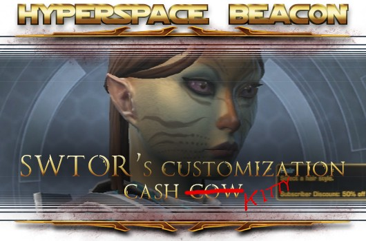 Hyperspace Beacon SWTOR's customization cash kitty