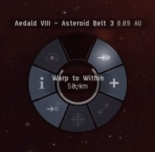 EVE Online redesigns radial menu for Odyssey