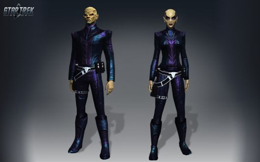 Star Trek Online dev diary details new species The Remans