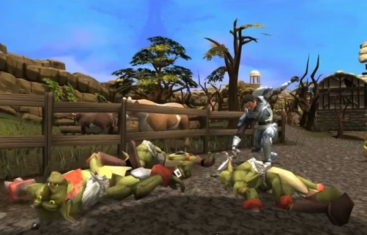 See RuneScape 3 revealed to the world
