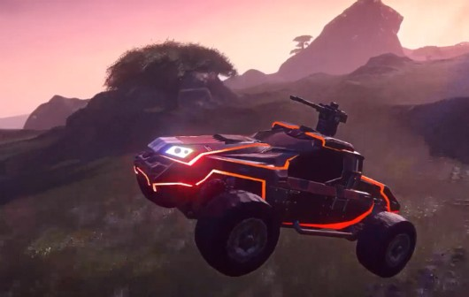 PlanetSide 2 Harasser screenshot