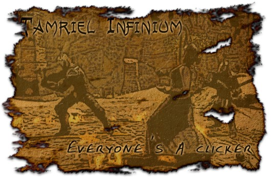 Tamriel Infinium Everyone's a clicker in The Elder Scrolls Online