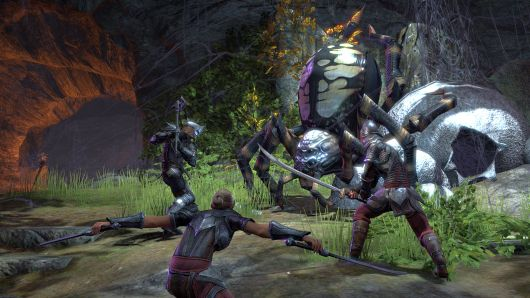 Here's your lore.  There are giant spiders.  Kill them.  What else is relevant?