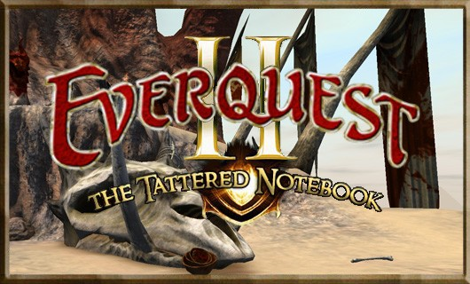 Tattered Notebook  It's the little things that count  a look at EQII updates