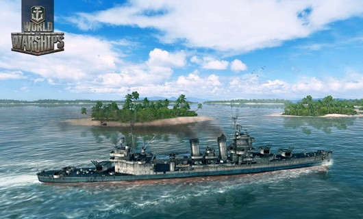 Sneak a peek at various vessels in World of Warships