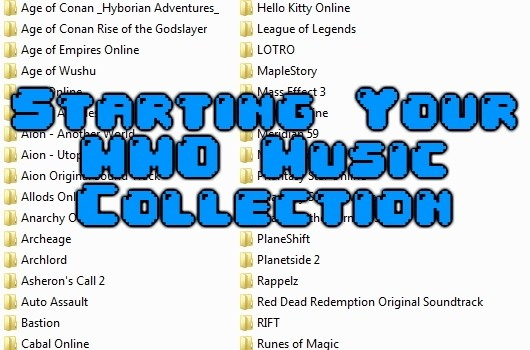 Jukebox Heroes Starting your MMO music collection