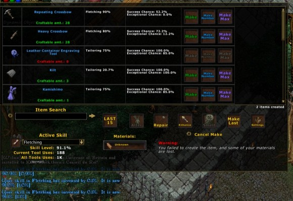 Ultima Online Poison Scripts Screenshots