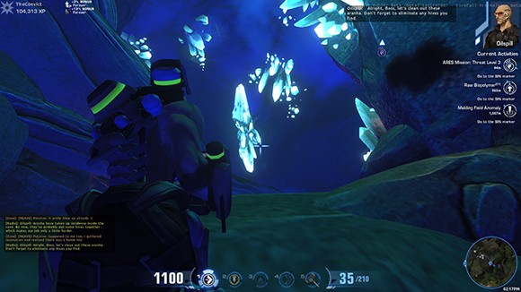 Firefall Cave