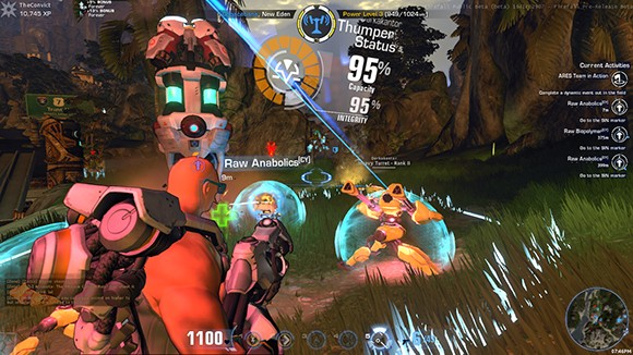 Firefall Thumping