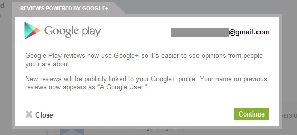 This change turned me from a consistent, fair app reviewer into someone who doesn't even hand out stars. Good job, Google.