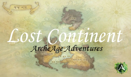 ArcheAge - Lost Continent map header