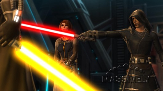 Star Wars: The Old Republic - Kira in distress