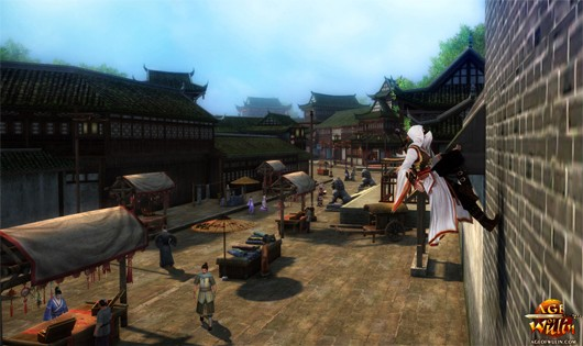 EU's Age of Wulin offers FAQ and early character creation for closed beta