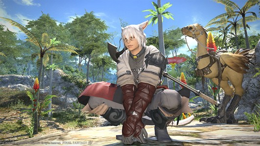 New FFXIV videos continue the tour of Eorzea, highlight group finder
