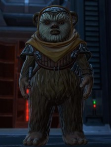 Hyperspace Beacon Breaking SWTOR canon one Ewok at a time