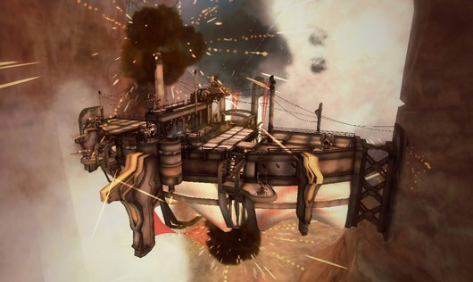 Guns of Icarus adds new ship, upgrades chat and more