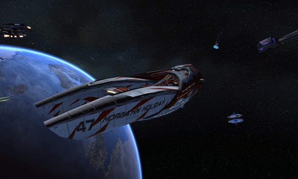 STO Horgahn Holiday Corvette