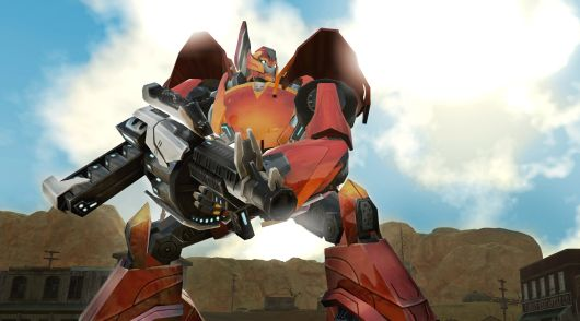 Scale back enough and you'll be making Robots in Disguise: The Game.