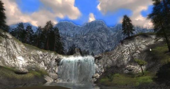 Mountain hiking in DDO Shadowfell Conspiracy's Stormhorns