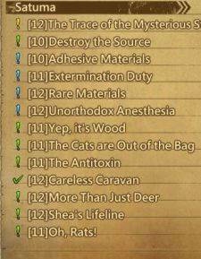 So. Many. Quests.