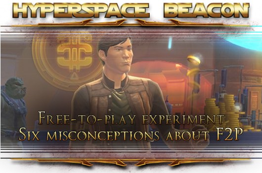 Hyperspace Beacon Six misconceptions about SWTOR freetoplay