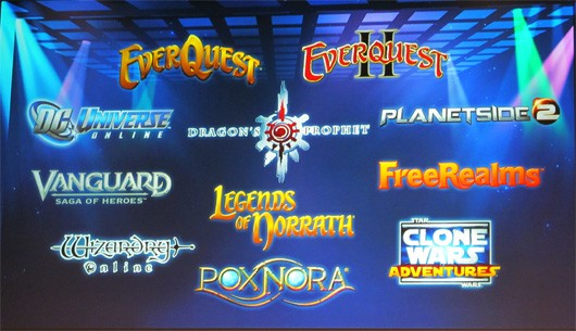 SOE Live 2013 Thursday keynote highlights EQ, and EQII