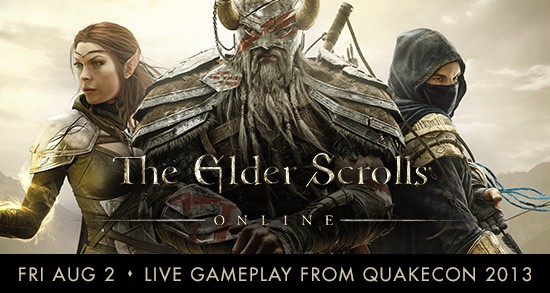 The Elder Scrolls Online live gameplay starts here!