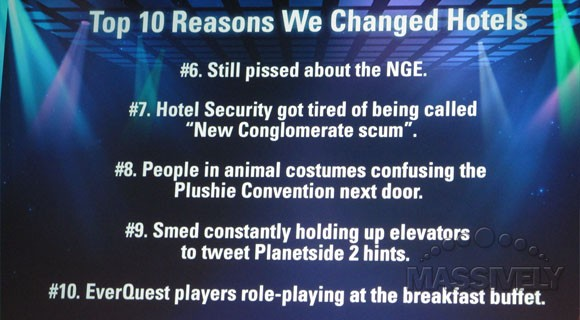 5 of the top 10 reasons why we changed hotels