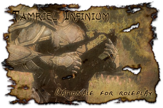 Tamriel Infinium ESO's rationale for roleplay