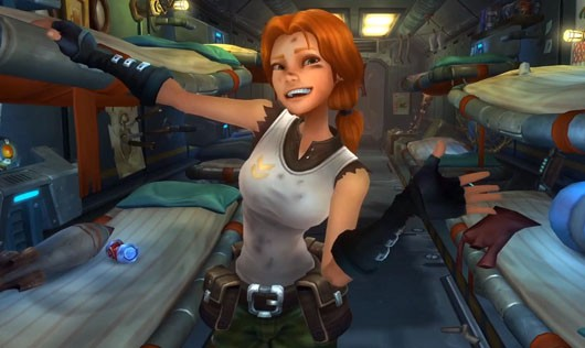 WildStar girl is happy to pay a sub