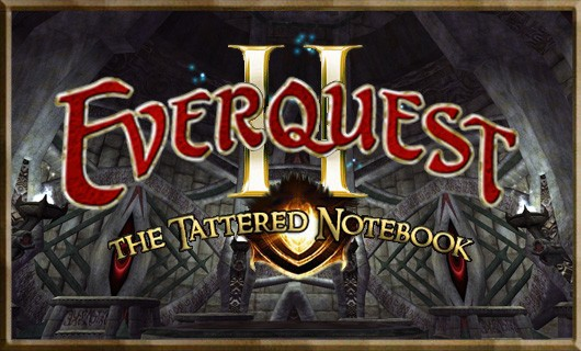 The Tattered Notebook  What to do with your new level 85 in EverQuest II