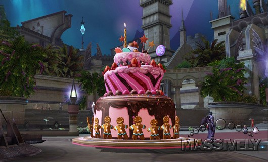 Aion's upcomin anniversay events include cakes, pirates, and an aethertech design contest