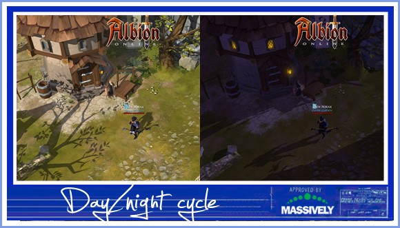 Albion Online day/night cycle