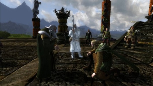 Charging into the epic story of Lord of the Rings Online Helm's Deep