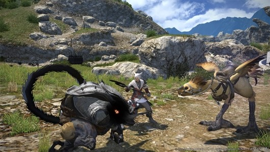Final Fantasy XIV combats server congestion