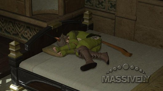 Final Fantasy XIV sleepy time