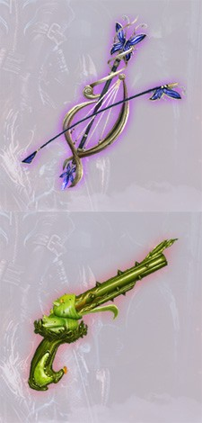 Player-made weapon shins