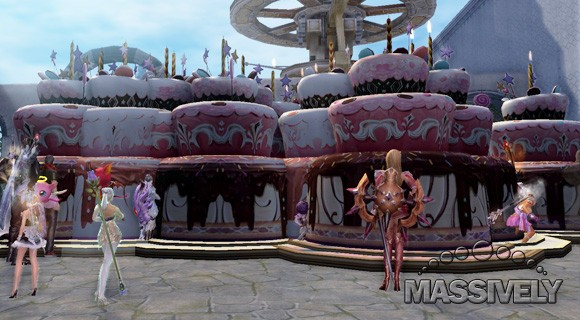 have a slice of Aion's 4th anniversary cake!