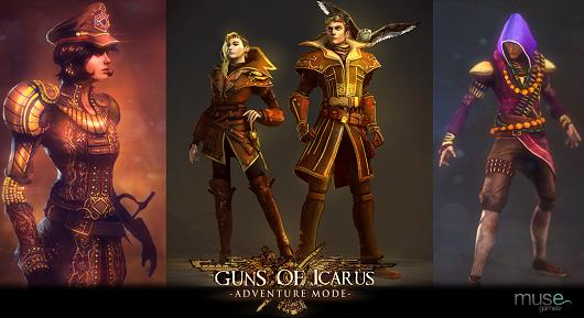 PAX Prime 2013 Guns of Icarus Online's new Adventure mode, more features and info about the PS4 version