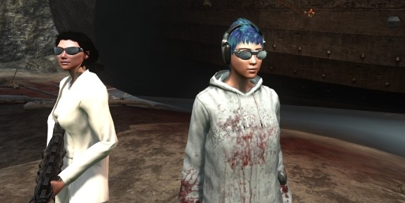 Chaos Theory Twentyplus outfits you can get via TSW questing