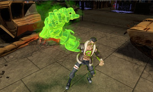 Infinite Crisis trailer introduces Atomic Green Lantern