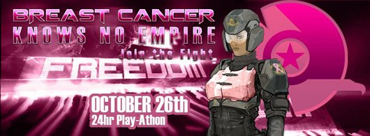 PlanetSide 2 players hosting 24hour playathon to raise money for breast cancer research