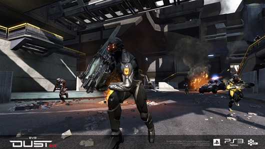 CCP still sees 'massive opportunity' on PS3 for DUST 514