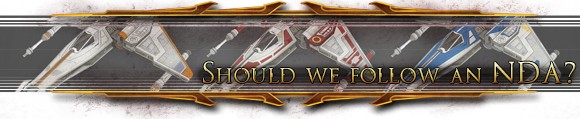 Hyperspace Beacon Four myths behind the SWTOR Galactic Starfighter NDA