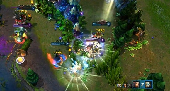 The Summoner's Guidebook How to get through a LoL teamfight alive