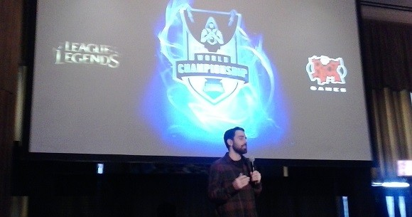 On the ground at the League of Legends World Championships